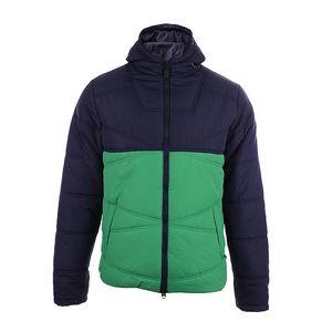 Pánská dvoubarevná bunda se zelenou částí Authority