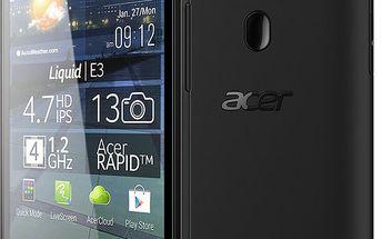 Designově zajímavý smartphone Acer Liquid E3