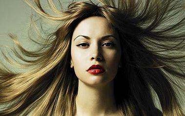 Luxusní L'Oréal melír, mytí, profesionální střih,...