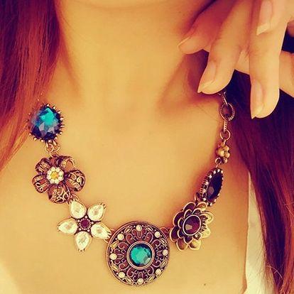 Vintage náhrdelník ve dvou variantách