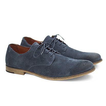 Pánské modré polobotky Shoe the Bear