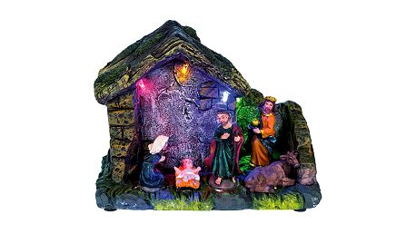 Vánoční betlém Idena, rozměr 14 x 12 x 6 cm