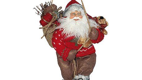 Dekorační Santa Idena