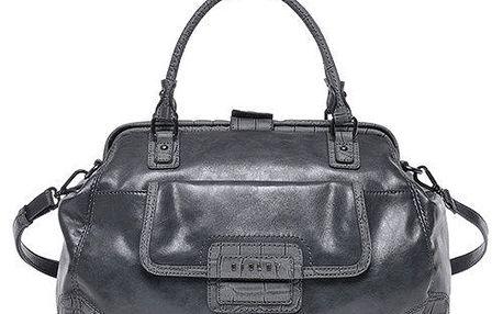Dámská šedá kabelka s popruhem Sisley
