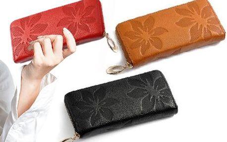 Dámská kožená peněženka v několika barvách