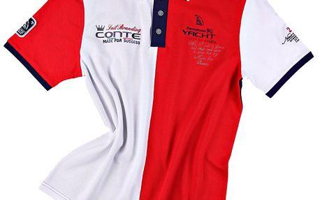 Pánské polo tričko v národních barvách M. Conte