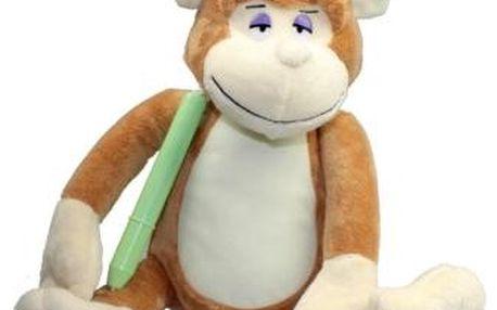 EPLine LUT1542 - LUMINI usínací opička s magickou tužkou
