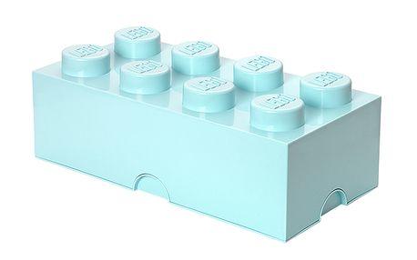Lego úložný box aqua