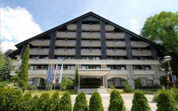 Slovinsko, oblast Bled, polopenze, ubytování v 3* hotelu na 8 dní