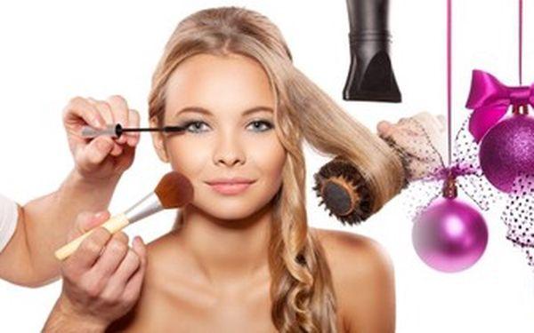 Každá žena může být okouzlující. Kompletní proměna vzhledu. Tip na dárek pro ženy.