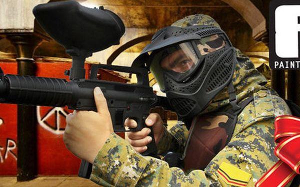 Napínavá paitballová střílečka kousek od Synkáče