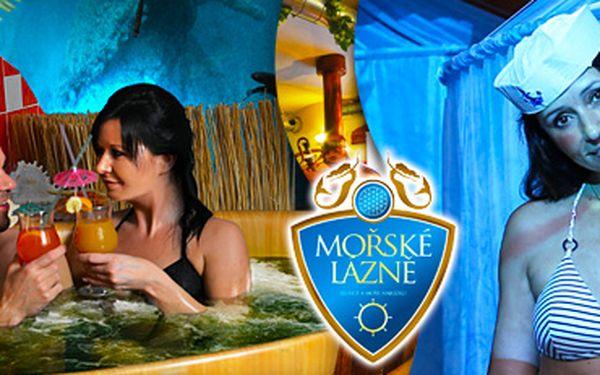 Mořská relaxace pro dva v Rožnovském pivovaru s min. 10 relaxačními zážitky!
