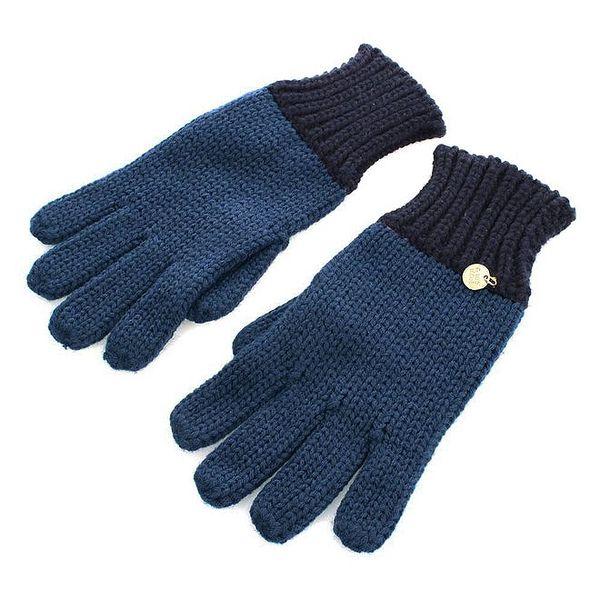 Dámské modré rukavice Gaudí