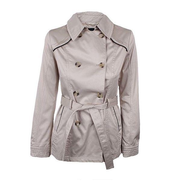 Dámský šedý dvouřadý kabátek Company&Co