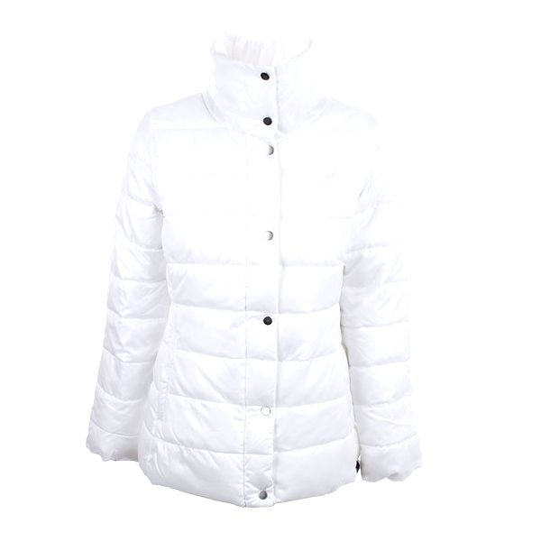 Dámský bílý kabát s límcem Big Star