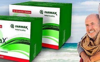 Dvě balení přípravku ProstaX 60 tob. včetně poštovného