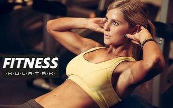 Měsíční permanentka do fitness nebo cvičení s os. trenérem!