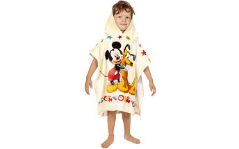 Plážová osuška Jerry Fabrics pončo Mickey Mouse froté 60 x 120 cm