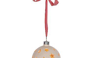 Dekorační koule Idena s 10 LED žárovkama