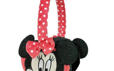 Hřejivé dívčí klapky na uši Minnie