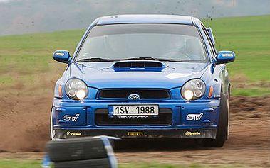 Projížďka v Subaru Impreza na rally trati u Příbrami!