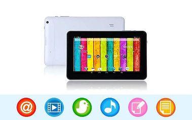 4jádrový 9palcový tablet Android KITKAT s duálním foťákem