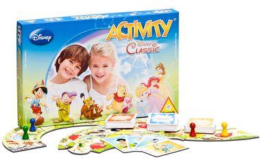 Poslední vydání dětské verze Activity s motivy Walt Disney