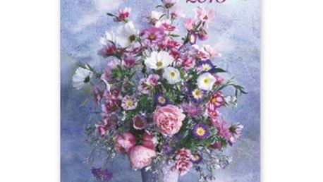 Kytice Praktik, kalendář 2015, 33 x 46 cm