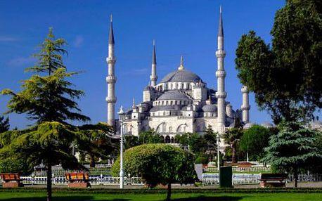Kouzlo Orientu: 4denní letecký výlet do Istanbulu!