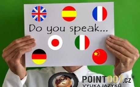 Týdenní nebo čtvrtletní jazykový kurzy ve škole Point007