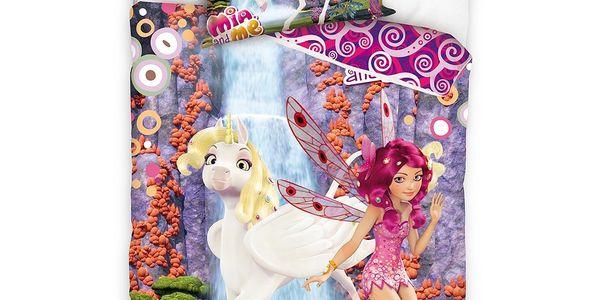 Tip Trade Dětské bavlněné povlečení Mia and Me Olchao, 140 x 200 cm, 70 x 80 cm