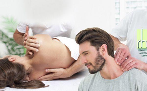 Profesionální masáže a fyzioterapie v Lékařském domě v Holešovicích! Udělejte něco pro své zdraví!