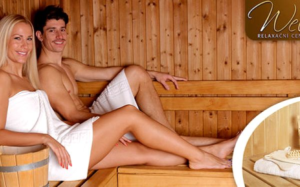 Odpočiňte si s partnerem v privátní sauně