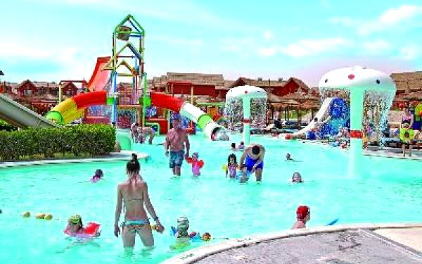 PICKALBATROS JUNGLE AQUA PARK, Hurghada, Egypt, letecky, all inclusive