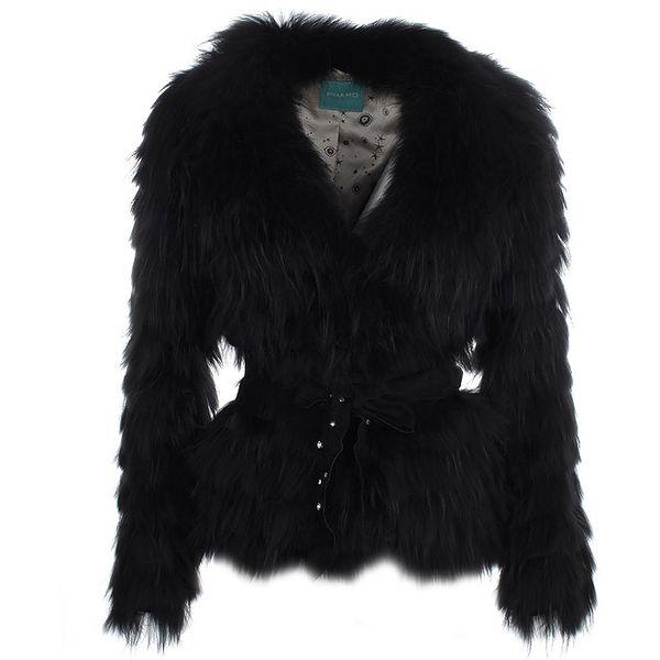 Dámský černý kožíšek Phard