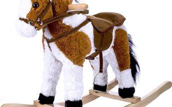 Houpací kůň, vydává zvuky opravdového koně