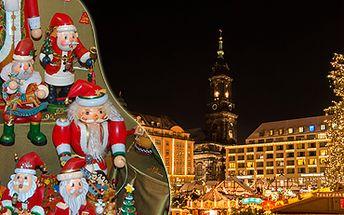 Vánoční nákupy v Drážďanech: 1 den na nejoblíbenějších trzích v Německu.