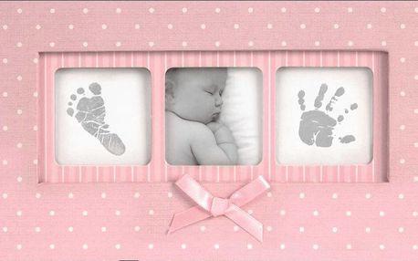 Fotoalbum Baby Polka Dot 100 fotografií (10x15cm)