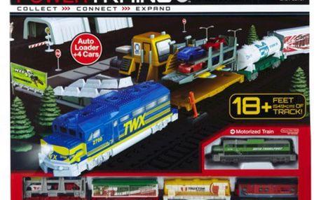 Jakks Pacific 48604 - Power Trains Autonakladač ( velký set )
