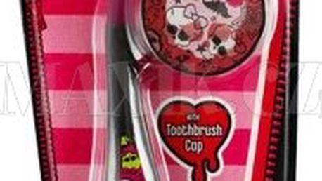 Zubní kartáček s krytkou Monster High