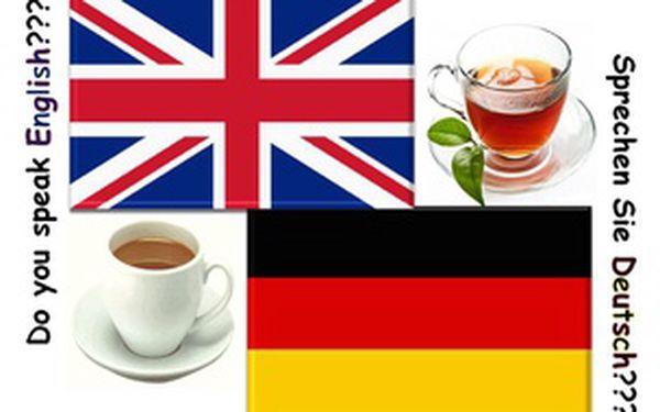 Ochutnávka individuální angličtiny nebo němčiny začátečníci (út, pá:13:00-14:00)