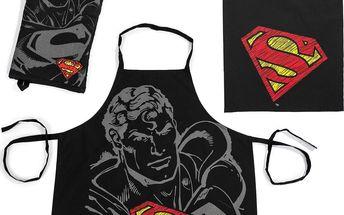 TipTrade originální kuchyňský set Superman, 3 kusy