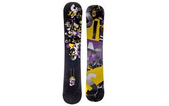 Quest pánský all-mountain snowboard střední flexe