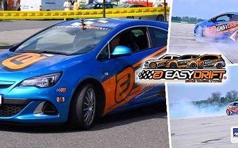 Zadriftujte si s Showcars - viděli jste v pořadu Autosalon! 30 minut řidičem driftovací káry - zažijte revoluci v driftování s EasyDrift. Perfektní jako zcela originální dárek pro všechny milovníky automobilů a jízdy smykem!
