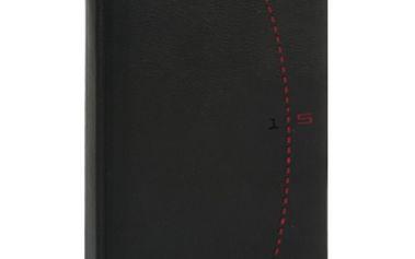 Tailor - Denní B6, černočervená, diář 2015, 11 x 17 cm