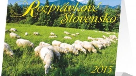 Rozprávkové Slovensko Praktik SK, kalendář 2015, 16,5 x 13 cm