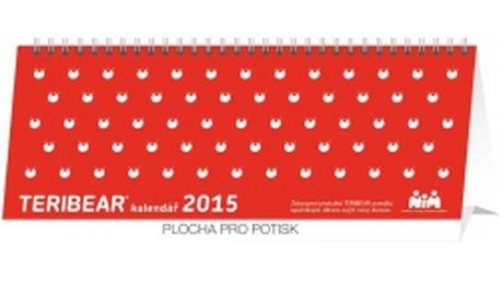 Teribear plánovací kalendář, 2015, 30 x 12,5 cm