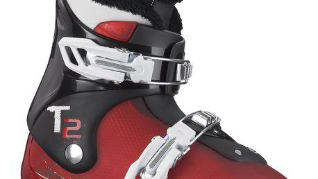 Teplá juniorská bota Salomon T2 RT Červená/Černá 20