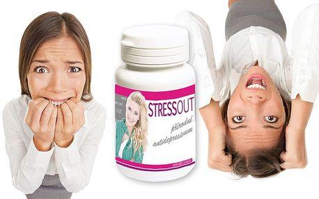 Přírodní antidepresivum Stress out – 30 kapslí