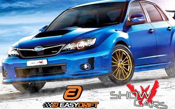 Rallye v Subaru Impreza nebo driftování